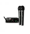 Akg Wms40 Mini Dual - Set  de Micrófonos Inalámbricos  de Mano
